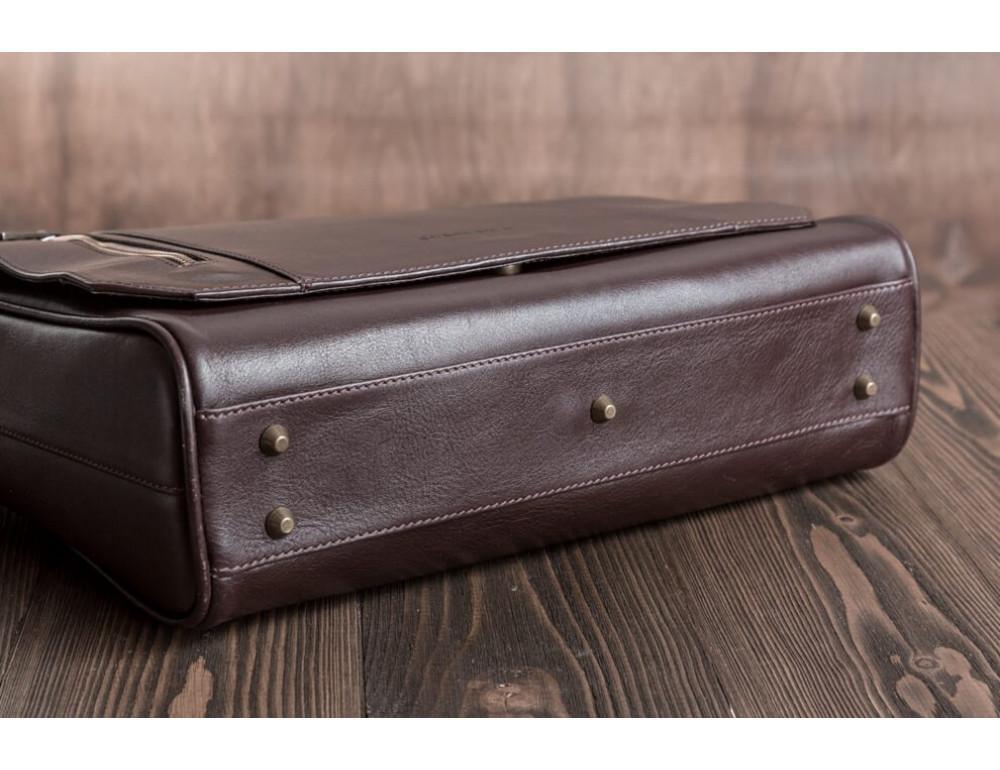 Мужская кожаная сумка-мессенджер BN092C - Фото № 7