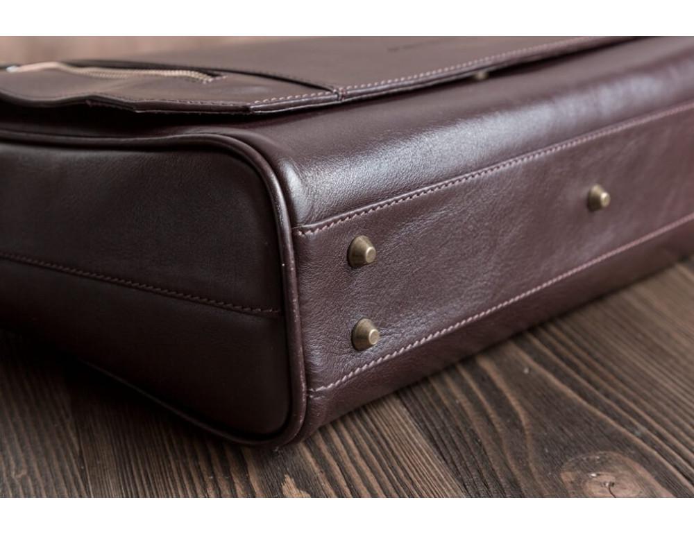 Мужская кожаная сумка-мессенджер BN092C - Фото № 8