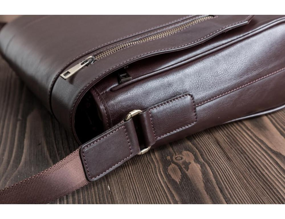Мужская кожаная сумка-мессенджер BN092C - Фото № 9