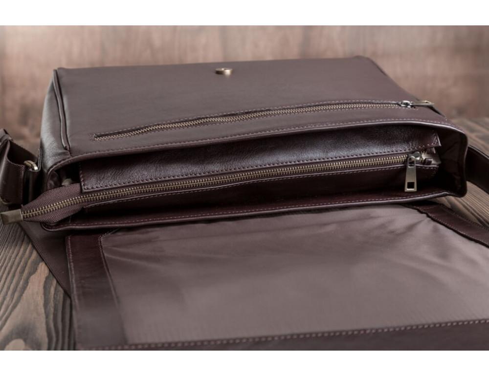 Мужская кожаная сумка-мессенджер BN092C - Фото № 6