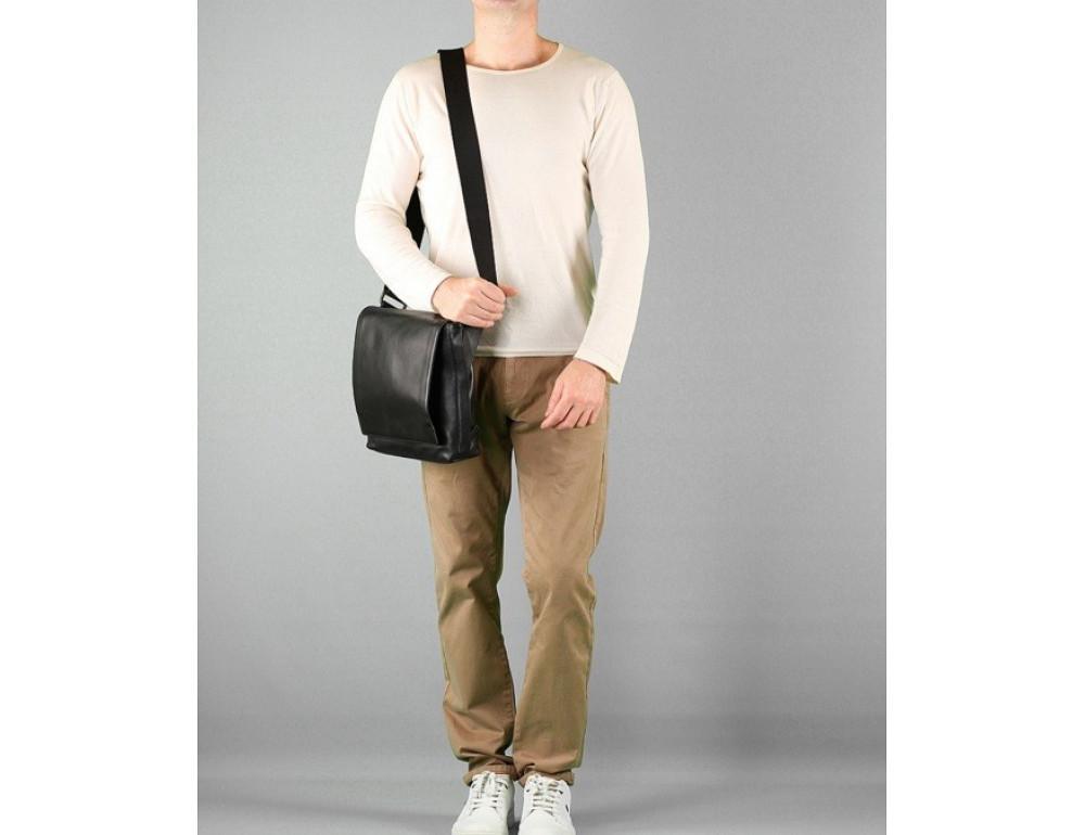 Чоловіча шкіряна сумка через плече Blamont Bn027A - Фотографія № 2