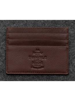 Шкіряний гаманець-Картхолдер 5028C коричневий