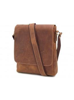 Мессенджер Tiding Bag G1157B коричневая