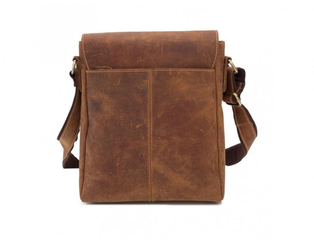 Мессенджер Tiding Bag G1157B коричневая - Фото № 3
