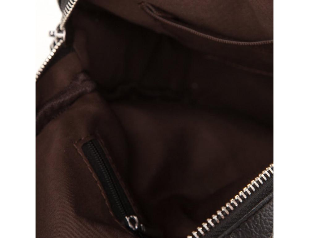 Мужская кожаная сумка-мессенджер  TIDING BAG M38-3923A - Фото № 6