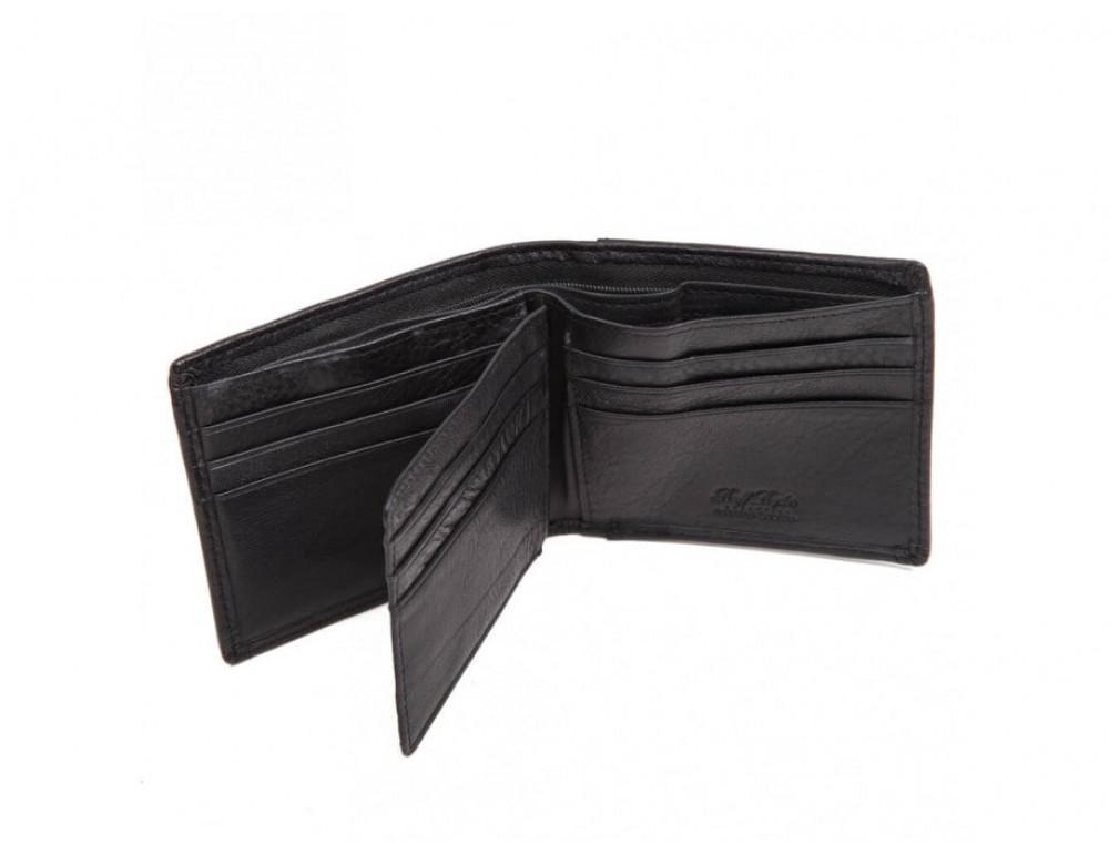 Кожаный портмоне Ruff Ryder RE-00274W черный - Фото № 2