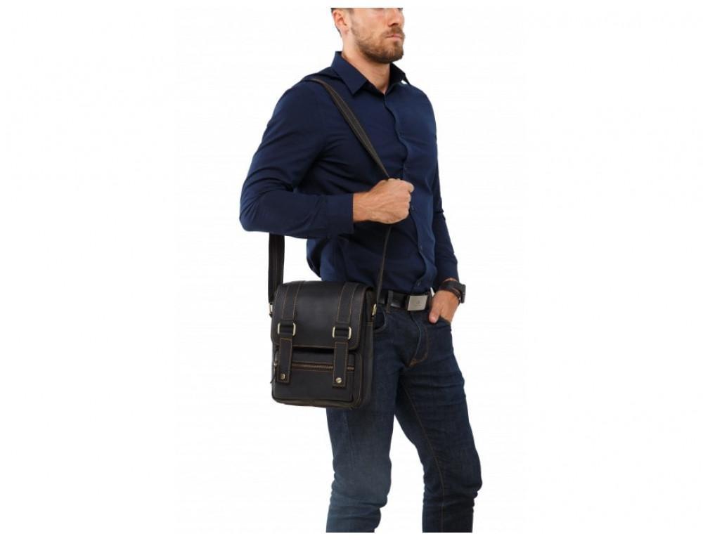 Мессенджер TIDING BAG T1172A чёрный - Фото № 2