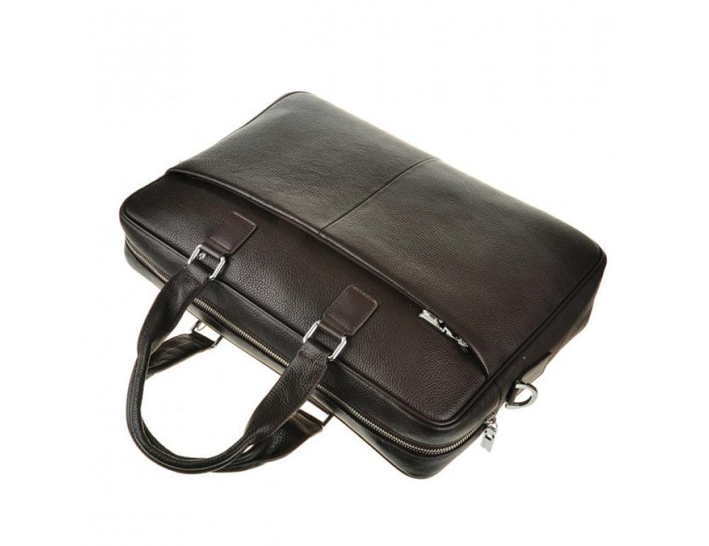 Мужская кожаная сумка TIDING BAG M2164C - Фото № 4