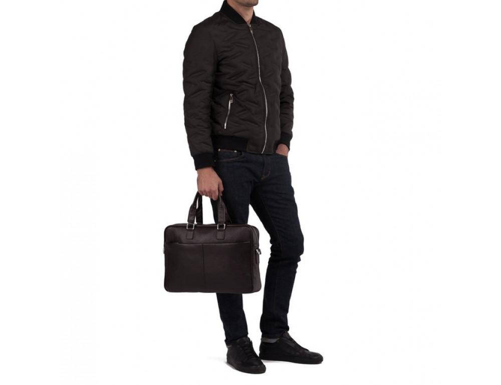 Мужская кожаная сумка TIDING BAG M2164C - Фото № 6