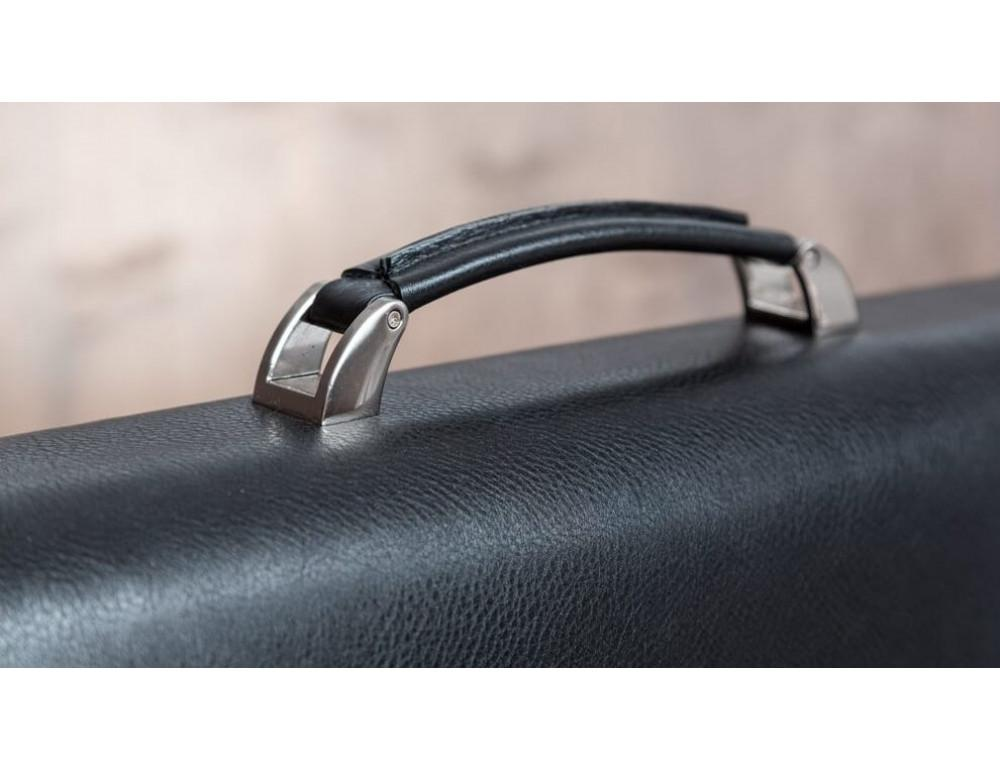 Вместительный кожаный портфель Blamont Bn044A - Фото № 8