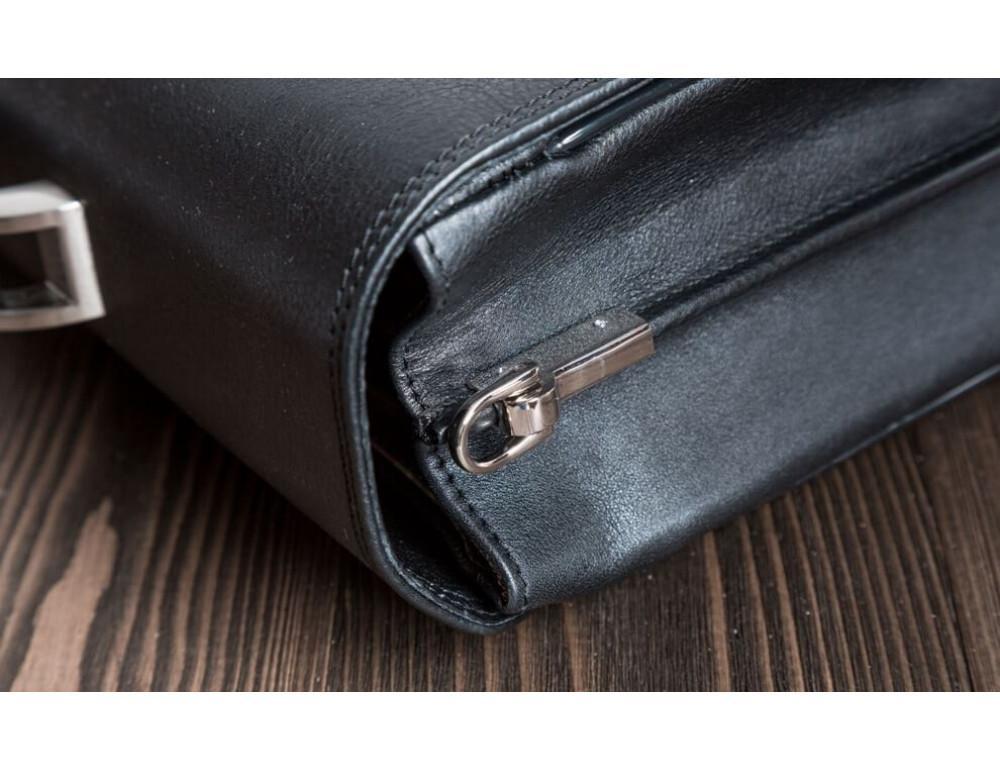 Вместительный кожаный портфель Blamont Bn044A - Фото № 7