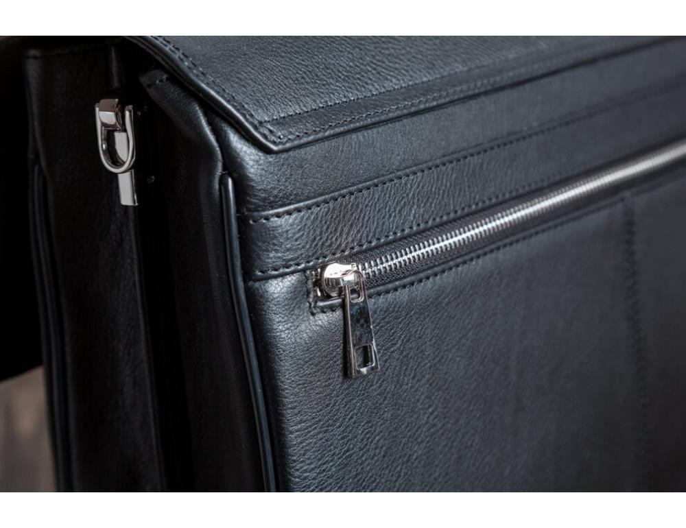 Вместительный кожаный портфель Blamont Bn044A - Фото № 6