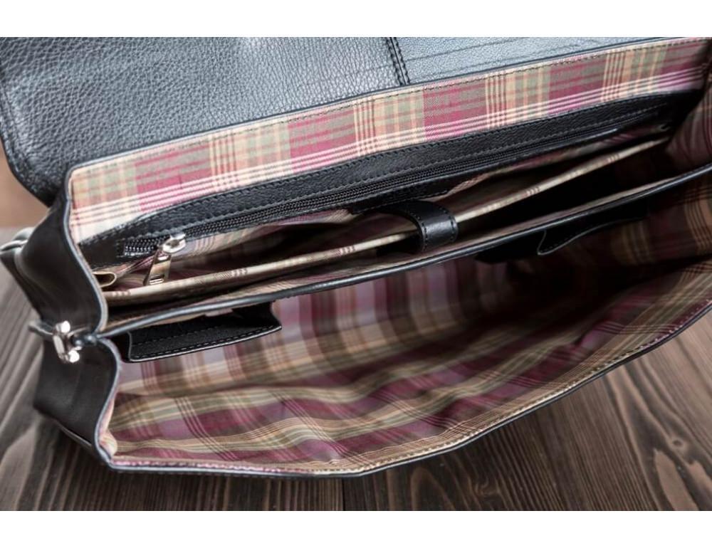Вместительный кожаный портфель Blamont Bn044A - Фото № 4