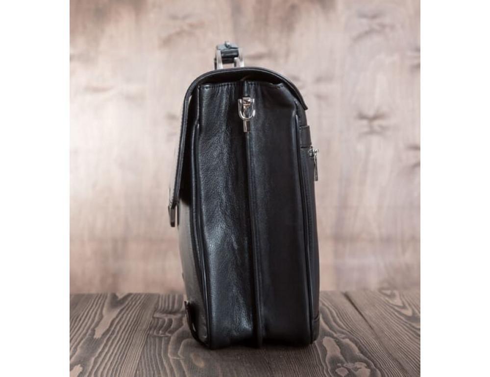 Вместительный кожаный портфель Blamont Bn044A - Фото № 13