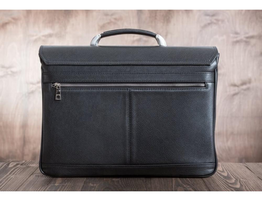 Вместительный кожаный портфель Blamont Bn044A - Фото № 12