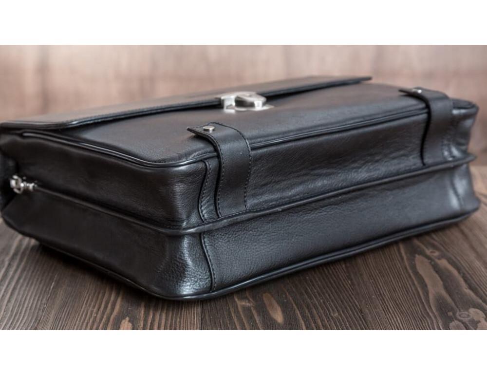 Вместительный кожаный портфель Blamont Bn044A - Фото № 11
