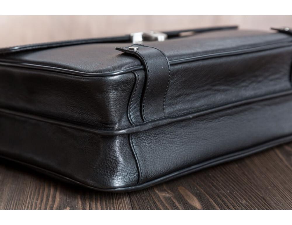 Вместительный кожаный портфель Blamont Bn044A - Фото № 10