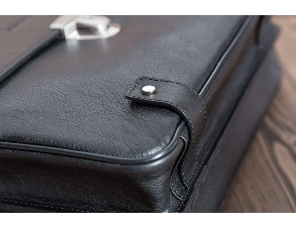 Вместительный кожаный портфель Blamont Bn044A - Фото № 9