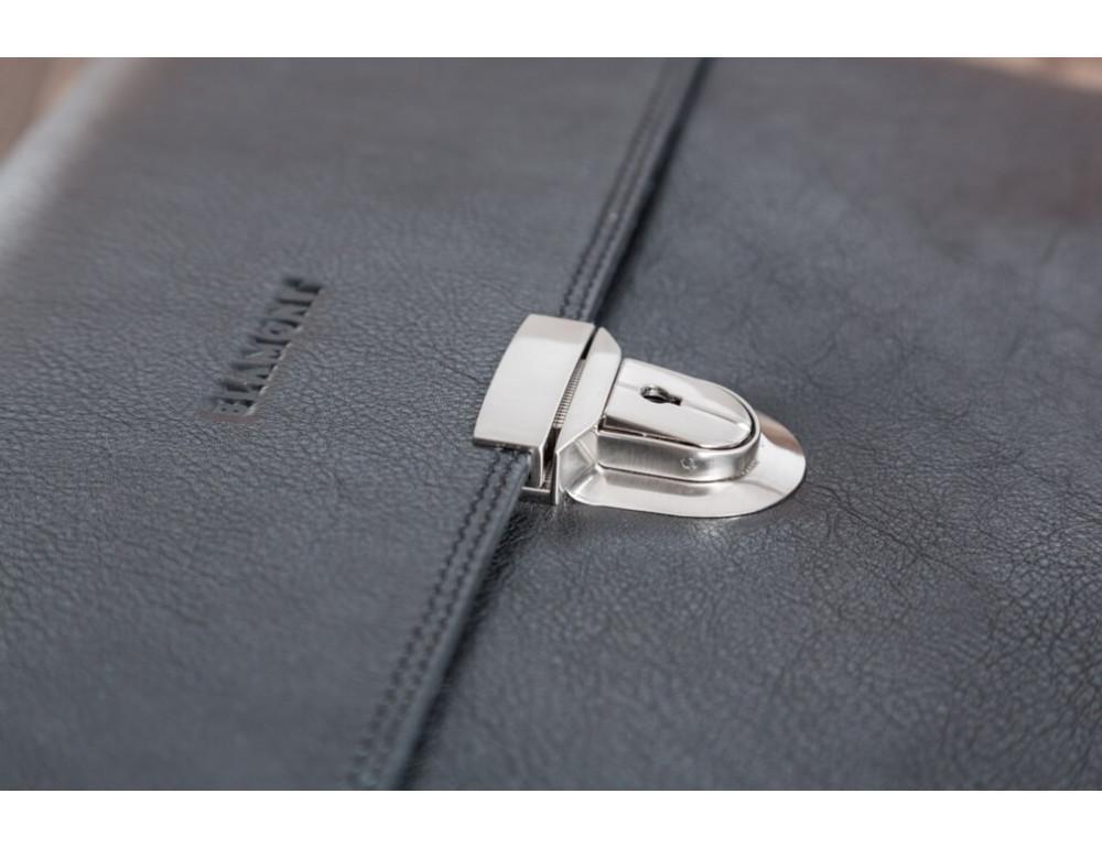 Вместительный кожаный портфель Blamont Bn044A - Фото № 15