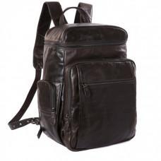 Місткий міський рюкзак TIDING BAG 7202J сіро-коричневий