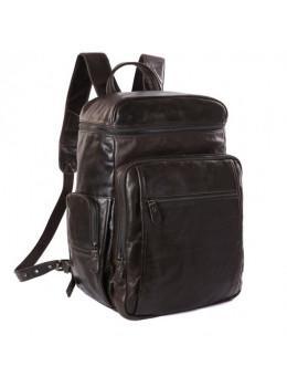 Вместительный городской рюкзак TIDING BAG 7202J серо-коричневый