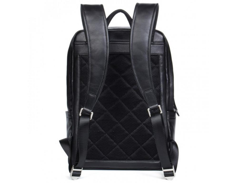 Мужской кожаный рюкзак Tiding Bag B3-058A черный - Фото № 3