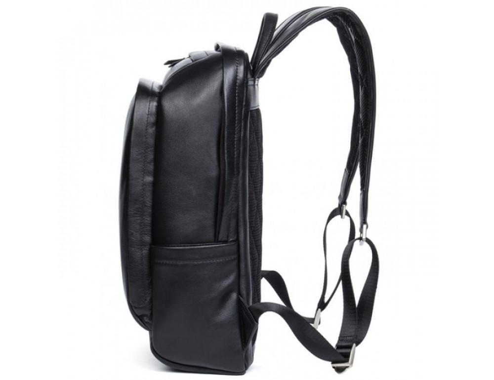 Мужской кожаный рюкзак Tiding Bag B3-058A черный - Фото № 4