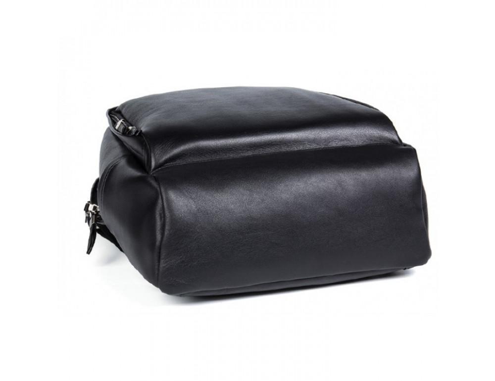 Мужской кожаный рюкзак Tiding Bag B3-058A черный - Фото № 7