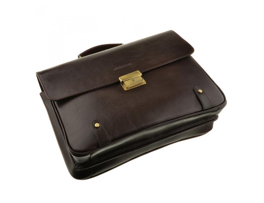 Вместительный мужской портфель Blamont Bn044C - Фото № 5