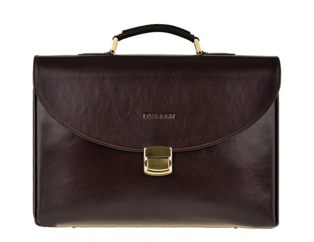 Мужской кожаный портфель Blamont Bn045C
