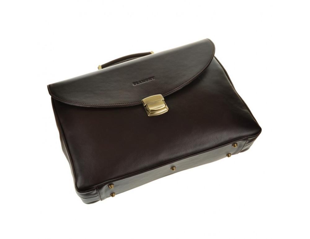 Чоловічий шкіряний портфель Blamont Bn045C - Фотографія № 4