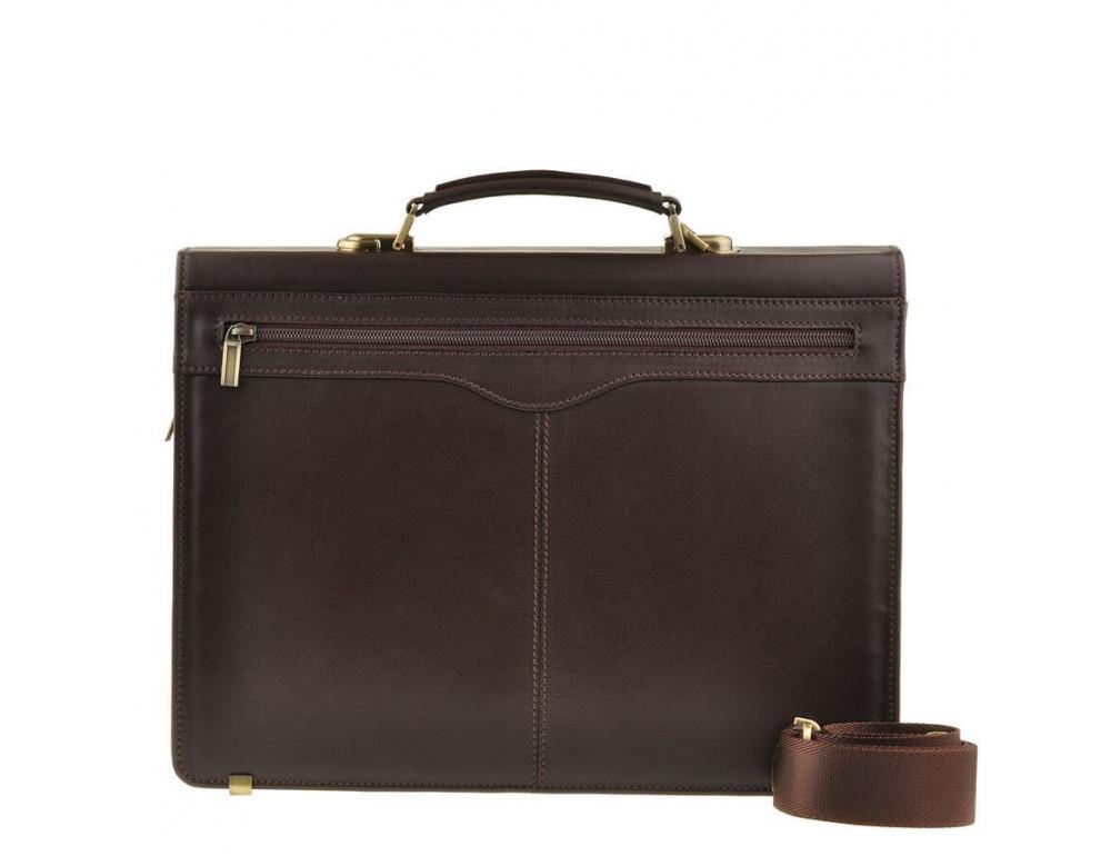 Мужской кожаный портфель Blamont Bn050C - Фото № 2
