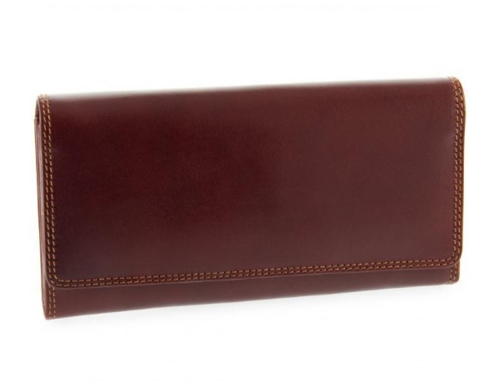 Жіночий шкіряний гаманець VISCONTI MZ10 IT BRN коричневий