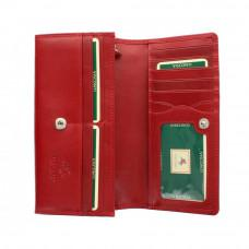 Женский кожаный кошелек VISCONTI MZ10 IT RED красный