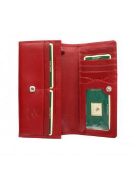 Женский кожаный кошелек VISCONTI MZ-10 IT RED красный