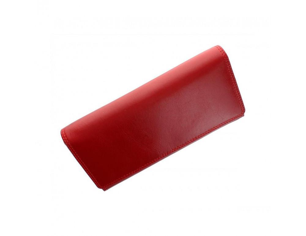 Женский кожаный кошелек VISCONTI MZ10 IT RED красный - Фото № 2