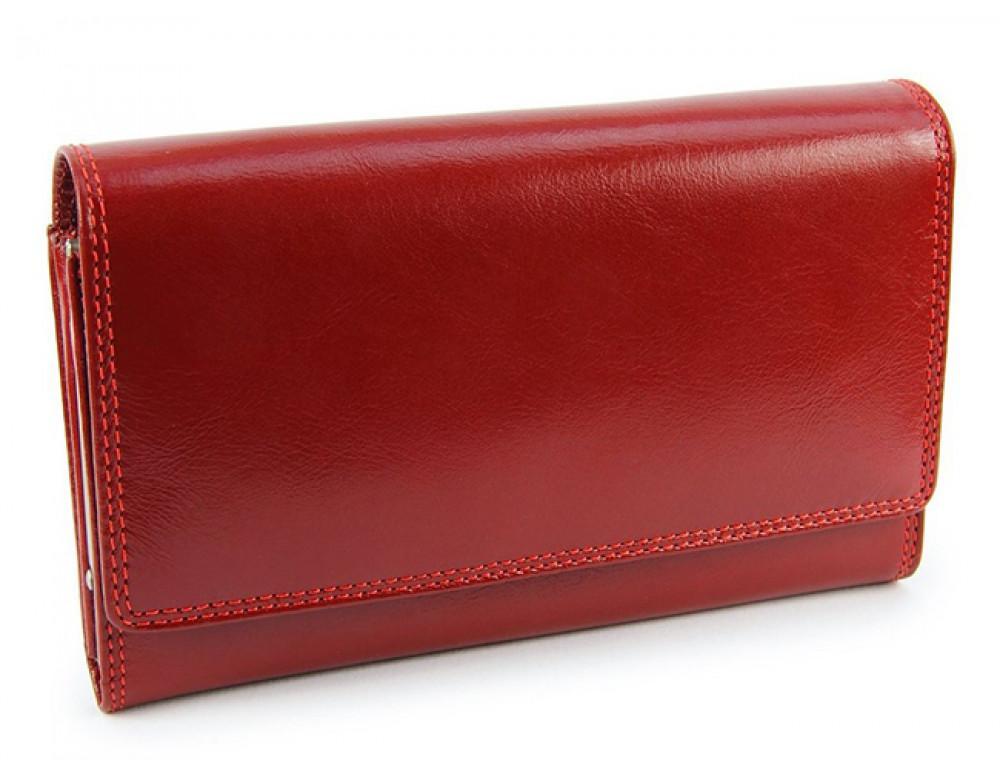 Маленький женский кошелек Visconti MZ12 красный - Фото № 2