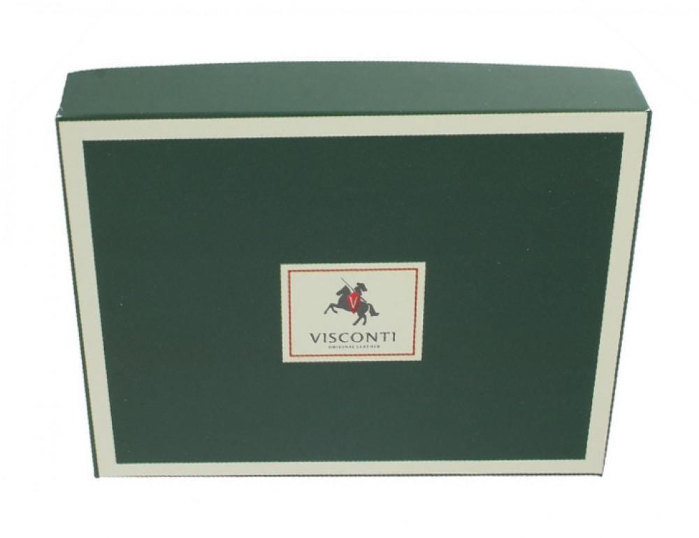 Маленький женский кошелек Visconti MZ12 IT BRN коричневый - Фото № 5