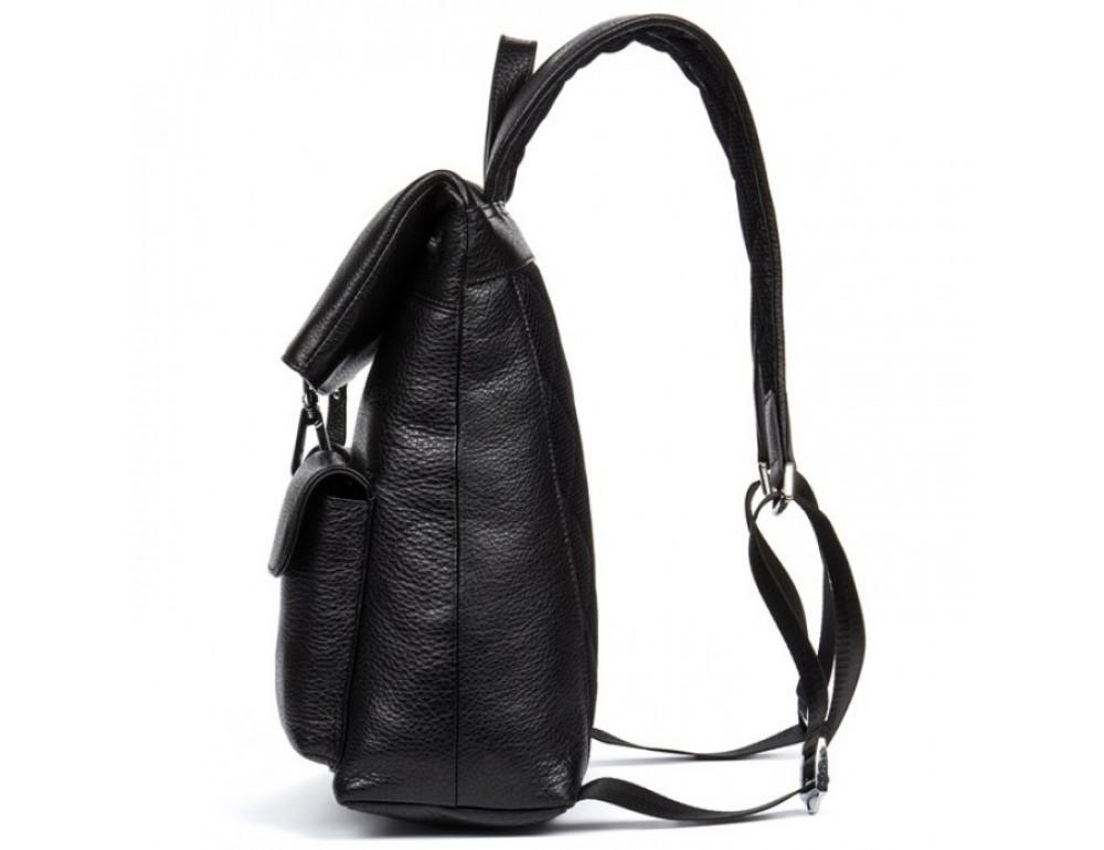 Кожаный рюкзак TIDING BAG B3-062A черный - Фото № 4