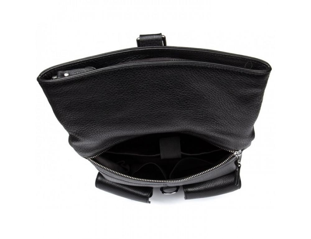 Кожаный рюкзак TIDING BAG B3-062A черный - Фото № 6