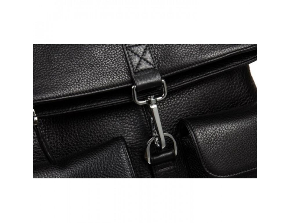 Кожаный рюкзак TIDING BAG B3-062A черный - Фото № 8