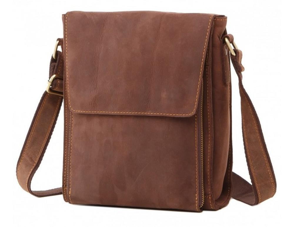 Чоловіча шкіряна сумка на плече TIDING BAG 7055B-1