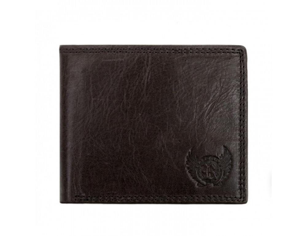 Мужской кожаный кошелёк Ruff Ryder RR-37951WG серо-коричневый - Фото № 1