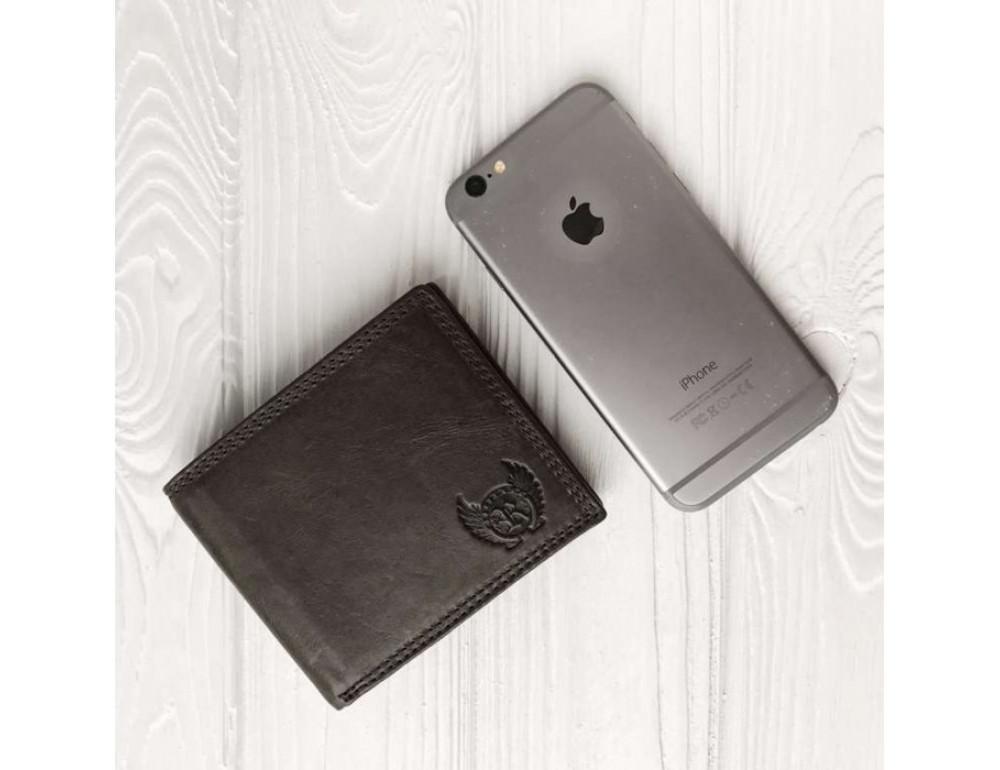 Мужской кожаный кошелёк Ruff Ryder RR-37951WG серо-коричневый - Фото № 2