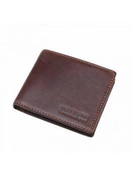 Кожаный портмоне Ruff Ryder RR-38255-1W коричневый