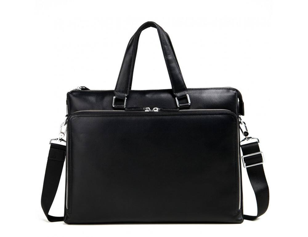 Мужская кожаная сумка TIDING BAG M664-4A - Фото № 3