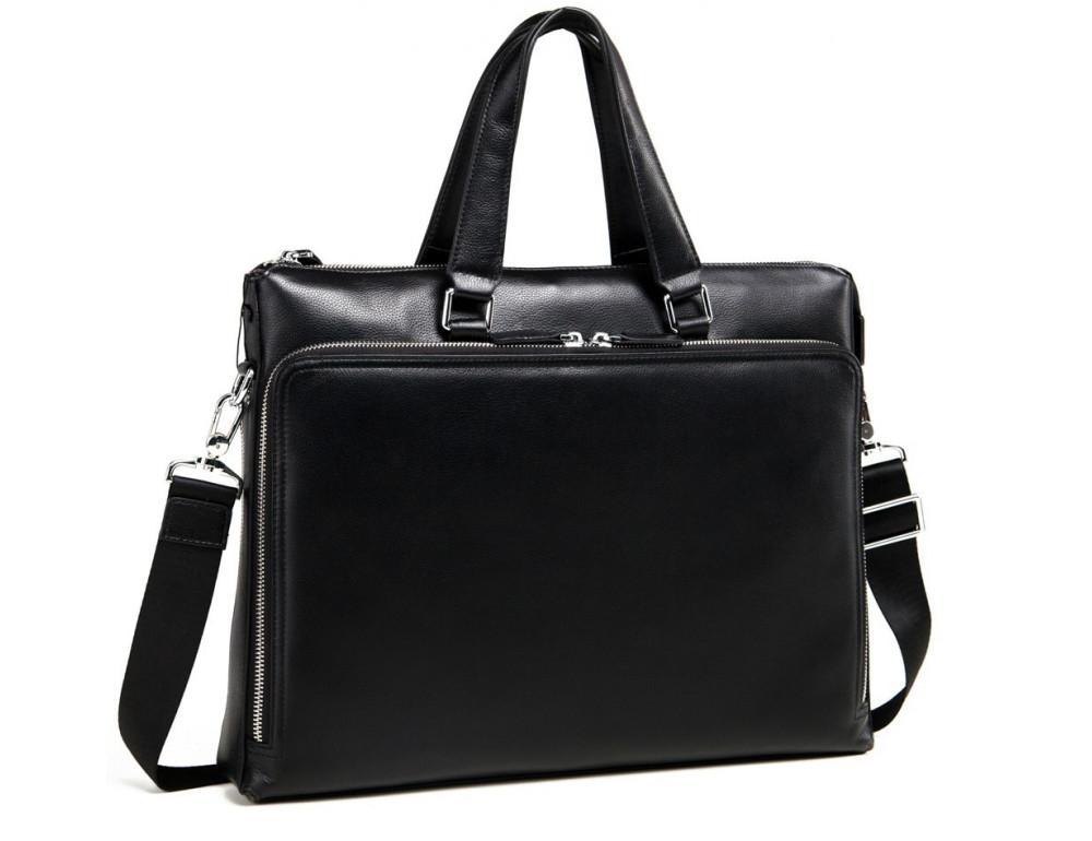 Мужская кожаная сумка TIDING BAG M664-4A - Фото № 1