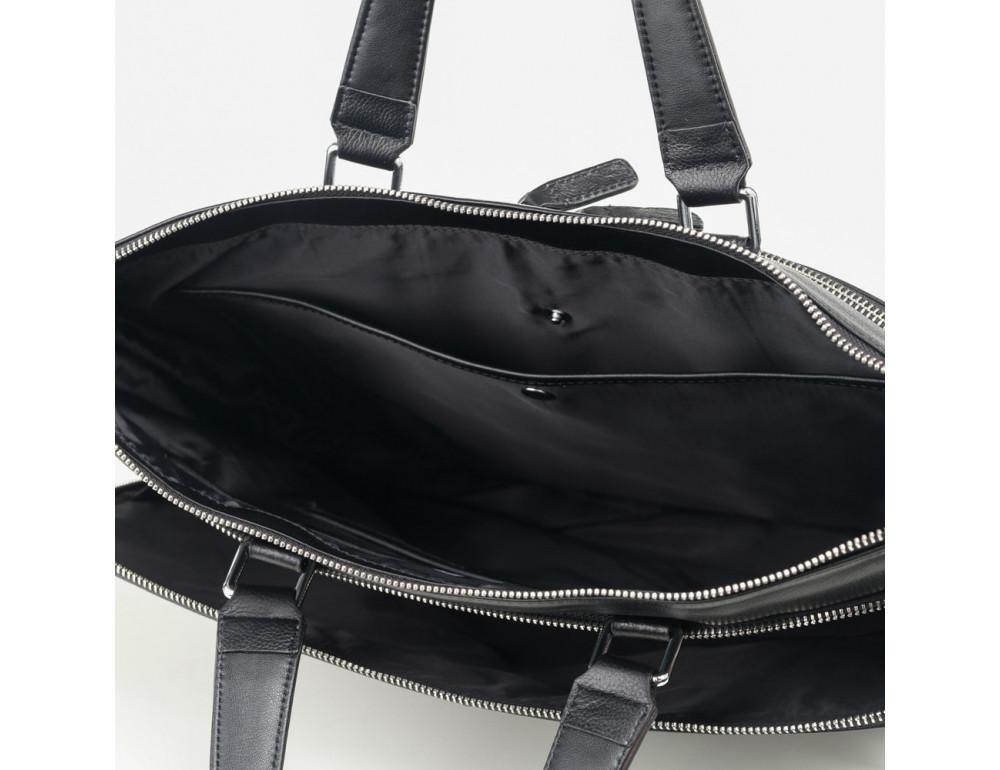Мужская кожаная сумка TIDING BAG M664-4A - Фото № 6