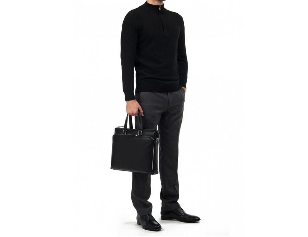 Мужская кожаная сумка TIDING BAG M664-4A - Фото № 2