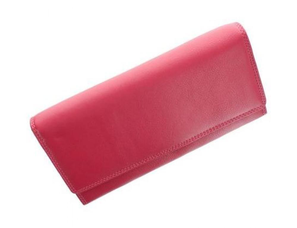 Жіночий шкіряний гаманець VISCONTI Heritage рожевий